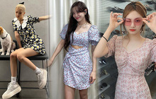 """Sao Hàn đồng loạt khoác cả một """"rừng hoa"""" lên người, nhìn vào biết ngay hot trend năm nay là gì!"""