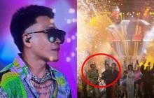"""Kết thúc Rap Việt Concert 2 ngày, Wowy bỗng """"dỗi hờn"""" vì BTC giấu tiệt ảnh, tấm hình rõ nhất cũng chỉ là chụp qua màn hình led"""