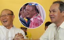 """Bầu Đức """"troll"""" chủ tịch Than Quảng Ninh khi thua đậm Hà Nội FC: """"Thua mà cười toe toét đây này"""""""