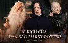 Bi kịch dàn sao Harry Potter: 4 người qua đời vì bệnh ung thư 1 người tự tử, cả thế giới bàng hoàng vì Snape và Dumbledore ra đi