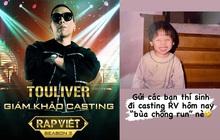 """Thí sinh casting Rap Việt mùa 2 được Tóc Tiên tặng """"bùa chống run"""" cực cute!"""