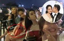 """Phu nhân Tổng giám đốc Phan Thành đi chơi """"mảnh"""" với hội chị em nhưng vòng tay sao cứ che bụng thế kia!"""