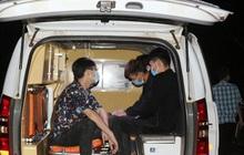 Công an rượt đuổi bắt 5 người nước ngoài nhập cảnh trái phép