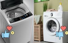 4 tips chọn mua máy giặt cho người độc thân: Vừa tiết kiệm bạc triệu vừa dùng được dài lâu