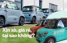 """Ngắm những mẫu ô tô điện """"xịn xò"""" có giá chỉ vài chục triệu, chị em """"xúng xính"""" ra phố thì nên sắm ngay!"""