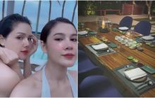 Ai cũng ước có một người bạn lấy chồng giàu như Phanh Lee: Ăn món ngon, ở resort đẹp đều gọi hội chị em đến hưởng thụ cùng