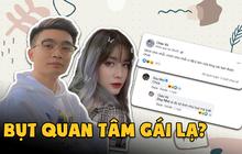 Nữ streamer lạ đăng status xin lỗi sau khi tỏ tình Bụt, nhưng sao nam chính đã nhanh tay vào bình luận cực thân mật?