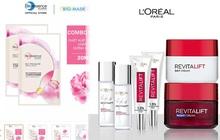 Deal mỹ phẩm hot nhất hôm nay trên Shopee, Lazada, Tiki: Set skincare sale 50%, mặt nạ mua 1 tặng 1