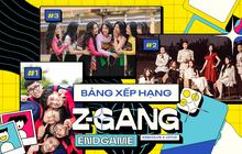 Bảng xếp hạng Z-Gang Endgame: Bộ ảnh cổ phục 70 triệu bất ngờ bị album này qua mặt, xem ra cứ đơn giản, gần gũi lại dễ ăn điểm?