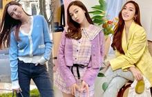 Muốn diện đồ màu mè thật xinh, sang xịn mà không sến sẩm thì cứ học Jessica là ra được khối tips