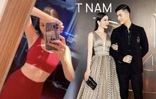 """Lệ Quyên khoe body """"mlem"""", nhưng bức ảnh lấp ló liên quan đến tình trẻ Lâm Bảo Châu ở lưng điện thoại mới chiếm spotlight"""