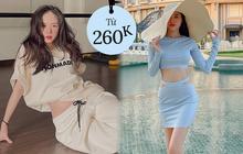 Đồ local brand sao Việt vừa diện: Toàn món rẻ đẹp chỉ từ 260k, bất ngờ nhất là váy sexy giá chưa đến 400k của Lan Ngọc