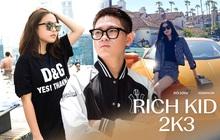 """Điểm mặt loạt rich kid 2k3 """"khuấy đảo"""" MXH: Thế hệ con nhà giàu mới đang lên ngôi"""