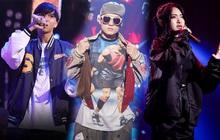 """3 """"quái vật"""" của King Of Rap tràn qua Rap Việt tranh tài: Trùm cuối khiến cư dân mạng phải giật mình"""