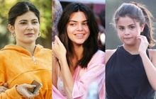 Bóc trần mặt mộc của dàn mỹ nhân Hollywood: Chị em Kendall - Kylie gây sốc, Selena và Hailey so kè khốc liệt visual thật
