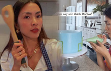 Hà Tăng vào bếp làm bánh tặng sinh nhật con trai 6 tuổi: Mẹ bỉm tỉ mỉ từng chút, sở thích của quý tử cũng bộc lộ rõ