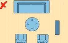 7 cách sắp xếp nội thất phòng khách siêu đỉnh, nhìn vào là biết gia chủ có gu thẩm mỹ