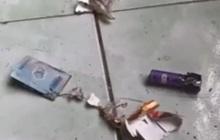 Vừa rút tờ 20.000 đồng, bao thuốc lá phát nổ làm người đàn ông bị thương