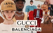 """Gucci x Balenciaga: Bữa tiệc thị giác của áo lông xa xỉ và màu sắc nổi loạn, màn kết hợp """"điên rồ"""" nhất năm 2021 là đây?"""