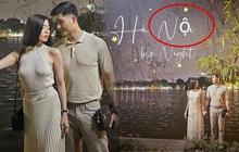 Lệ Quyên - Lâm Bảo Châu rủ nhau ra Bờ Hồ chụp ảnh, hỡi ôi nhìn font chữ cục mịch bị lỗi mà tức á!