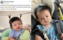 """Ái nữ nhà Cường Đô La đã nói được tiếng đầu tiên nhưng nghe xong khiến mẹ Đàm Thu Trang thở dài: """"Con với cái thế đấy""""!"""