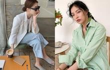 Tủ đồ của hội gái Hàn sành điệu luôn có đủ 10 items sau, bạn cứ học theo là style đẹp vượt cấp