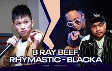 Rộ tin B Ray làm giám khảo Rap Việt, có ai còn nhớ trận diss cực căng với Rhymastic và Blacka không nhỉ?