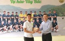 Hoà Bình FC nâng cấp sân hàng tỷ đồng để tham dự giải hạng Nhì 2021