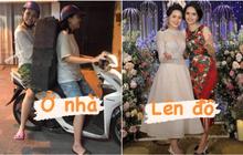 2 ái nữ nhà cựu Chủ tịch CLB Sài Gòn kéo dài series biến hình: Lên đồ lung linh bao nhiêu, ở nhà xuề xoà bấy nhiêu