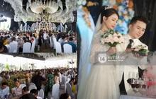 """Đám cưới Phan Mạnh Quỳnh tại Nghệ An: Cô dâu xinh và chú rể điển trai """"náo loạn"""" đường làng, tiệc 700 khách mời cực khủng!"""