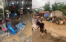 Xót xa khung cảnh tan hoang, nhiều tài sản bị bùn đất vùi lấp nơi lũ ống quét qua ở Lào Cai