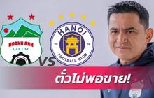 Trận HAGL gặp Hà Nội FC chiếm spotlight trên báo Thái Lan: Sức hút của HLV Kiatisuk