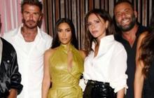 Kim Kardashian dự tiệc sinh nhật Victoria Beckham mà như... nhân vật chính: Đứng center, bốc lửa át luôn bà mẹ 4 con
