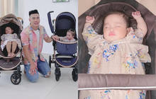 Con gái Lê Dương Bảo Lâm được dẫn đi quay quảng cáo, nhìn biểu cảm biết ngay sau này nối nghiệp bố