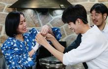 """Diệu Nhi """"nhiệt huyết"""" hát hit SNSD trước mặt trai đẹp Produce X 101"""