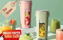 5 máy xay sinh tố mini đang bán chạy nhất Shopee: Món rẻ nhất chỉ 159K, mua về đón hè từ giờ là vừa!
