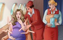 Điều gì sẽ xảy ra nếu 1 em bé ra đời ngay trên máy bay? Mọi chuyện sẽ không giống như bạn tưởng tượng