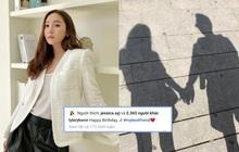 Bạn trai đại gia đăng ảnh tình tứ công khai để chúc sinh nhật Jessica, nhưng dòng trạng thái lại gây hoang mang