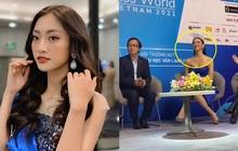Hoa hậu Lương Thùy Linh trả lời siêu thông minh khi bị sinh viên hỏi khó, bắn tiếng Anh được cả hội trường khen ngợi