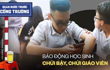 Ảnh, video: Học sinh Hà Nội phì phèo thuốc lào, chửi bạn, chửi giáo viên bằng đủ thứ ngôn ngữ *** ***