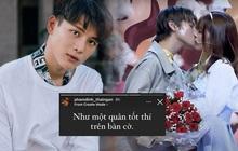 """Phạm Đình Thái Ngân ẩn ý về scandal hôn nữ chính rồi từ chối trên show hẹn hò: """"Như một quân tốt thí trên bàn cờ""""?"""
