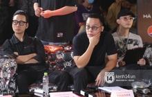 Độc quyền: Bộ 3 giám khảo Touliver, Rhymastic, JustaTee tập trung cao độ tại vòng casting Rap Việt miền Bắc