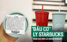 """Ngã ngửa vì hiện tượng """"đầu cơ"""" ly Starbucks, giá tăng chóng mặt một cách khó hiểu đến mức mua 1 triệu - bán lại tận 20 triệu cho 2 chiếc ly nhựa cũng cháy hàng"""