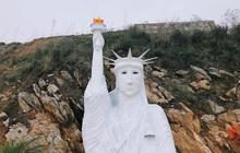 """Bức tượng Nữ thần Tự do """"phiên bản đột biến"""" ở Sa Pa gây xôn xao, cơ quan chức năng nói gì?"""