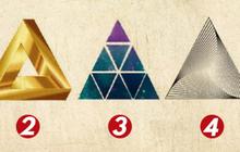 Nét tính cách nào giúp bạn thành công hơn, câu trả lời được bật mí qua hình tam giác bạn chọn!
