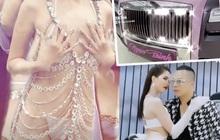 Giữa drama với Nathan Lee, Ngọc Trinh gây sốc khi diện nội y hột xoàn phô diễn 80% cơ thể, còn khoe được tặng Rolls-Royce 30 tỷ