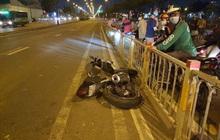 TP.HCM: Va chạm với dải phân cách, thanh niên văng khỏi xe mô tô tử vong tại chỗ