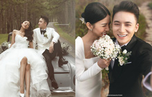 Giữa drama, Phan Mạnh Quỳnh và cô dâu hot girl bỗng lộ ảnh cưới chưa từng được công bố: Đẹp như phim thế này nhìn muốn cưới quá!