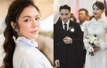 Lý Nhã Kỳ vào chúc mừng nhanh như gió, còn bày tỏ nhìn vợ chồng Phan Mạnh Quỳnh hạnh phúc mà thèm!