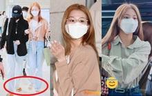 """4 nàng visual của Twice nổi bần bật khi diện toàn đồ hiệu xịn, nhưng đôi dép lông """"bô nhếch"""" mới chiếm spotlight"""
